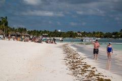 Akumal Beach Stock Image