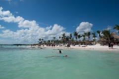 Akumal Beach Royalty Free Stock Images