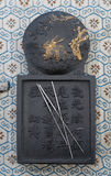 akupunktur Fotografering för Bildbyråer
