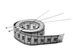 Akupunktur igły dla ciężar straty Obraz Royalty Free