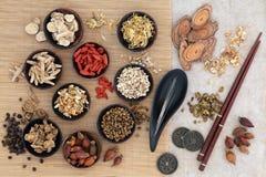 Akupunktura tradycyjni chińskie medycyna zdjęcie stock