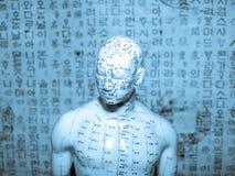 akupunktury pojęcie Fotografia Royalty Free