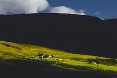 Akureyri, Исландия Стоковая Фотография