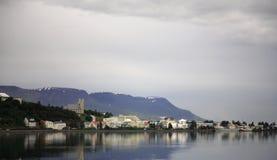 Akureyri Fotos de archivo libres de regalías
