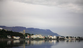 Akureyri Fotos de Stock Royalty Free