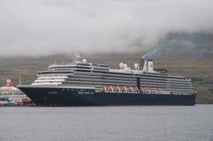 Cruise ship Zuiderdam in Port stock photo