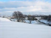 Akureyri. Iceland city north travel view winter snow amazing experience Royalty Free Stock Image