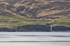Akureyri Iceland coastal view Stock Photo