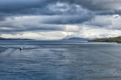 Akureyri Iceland coastal view Stock Photos