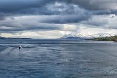 Akureyri Iceland coastal view Stock Photos