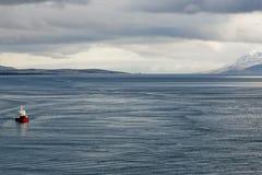 Akureyri Iceland coastal view Royalty Free Stock Image