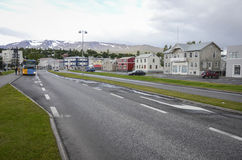 Akureyri, Iceland Royalty Free Stock Photography