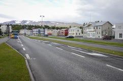 Akureyri, Islândia Fotografia de Stock Royalty Free