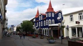 Akureyri, Islândia Foto de Stock Royalty Free