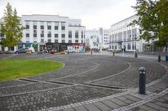Akureyri, Islanda Fotografia Stock Libera da Diritti
