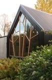 Akureyri ogródów botanicznych Budować Fotografia Stock