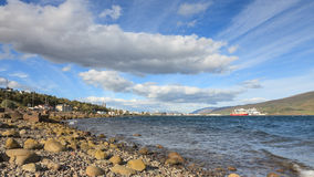 Akureyri Waterfront Royalty Free Stock Photography