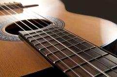 Akustikgitarre stockfotografie