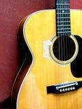 Akustikgitarre Stockbild