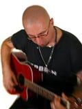 Akustikgitarre Stockfoto