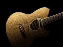 Akustikgitarre, Talman TCM50 Stockfotografie