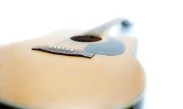 Akustikgitarre und Traum Stockfoto