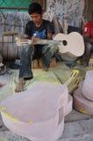 Akustikgitarren Lizenzfreies Stockfoto