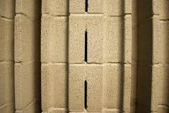 Akustischer Asche-Block-Abschluss oben Lizenzfreies Stockfoto