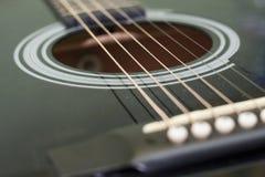 Akustisk gitarr Royaltyfri Foto