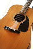 akustisk gitarr 3 Fotografering för Bildbyråer