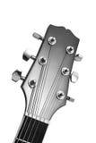 akustisk gitarr Arkivfoto