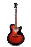 Akustisk gitarr för jumbo Royaltyfri Fotografi