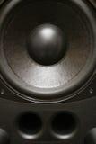 akustisk högtalare royaltyfri bild