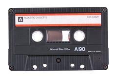 akustisk kassett royaltyfri bild