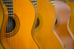 Akustiska gitarrer Royaltyfria Foton