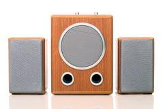 akustiskt sound system Arkivfoton