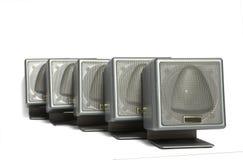 akustiskt system Royaltyfri Fotografi