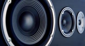 akustiskt system Royaltyfria Foton
