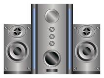 akustiskt system Arkivfoton