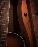 Akustyczna miłość Obrazy Stock