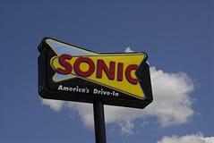 AKUSTYCZNY fasta food łańcuch Obraz Royalty Free
