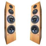 akustyczny stereo system Obrazy Royalty Free