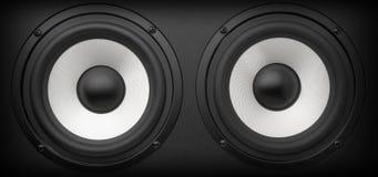 akustyczny system Zdjęcie Royalty Free