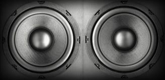 akustyczny system Obrazy Stock