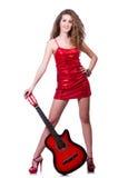 akustyczny szczegółów gitary gitarzysta wręcza instrumant muzykalny wykonawcy gracza bawić się zdjęcie stock