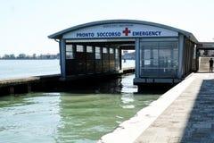 Akutmottagning i Venedig, Italien royaltyfri fotografi