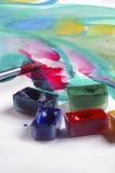 akvarell Fotografering för Bildbyråer