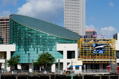 akvarium New Orleans Arkivfoto