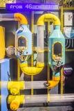 Akvariumfiltreringsystem Fotografering för Bildbyråer