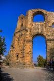 Akvedukt av Aspendos Royaltyfri Bild